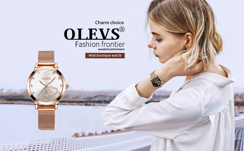 rose gold watch for women