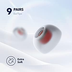 9 Pairs EarTips  Extra Soft