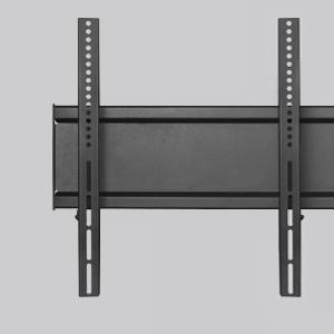 Doppio TV Robusta struttura in acciaio con supporto universale VESA