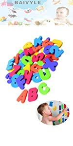 foam infant bath toys for toddlers baby bathtub toy organizer alphabet letters kids and numbers
