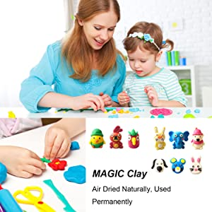 modeling clay Air Dry