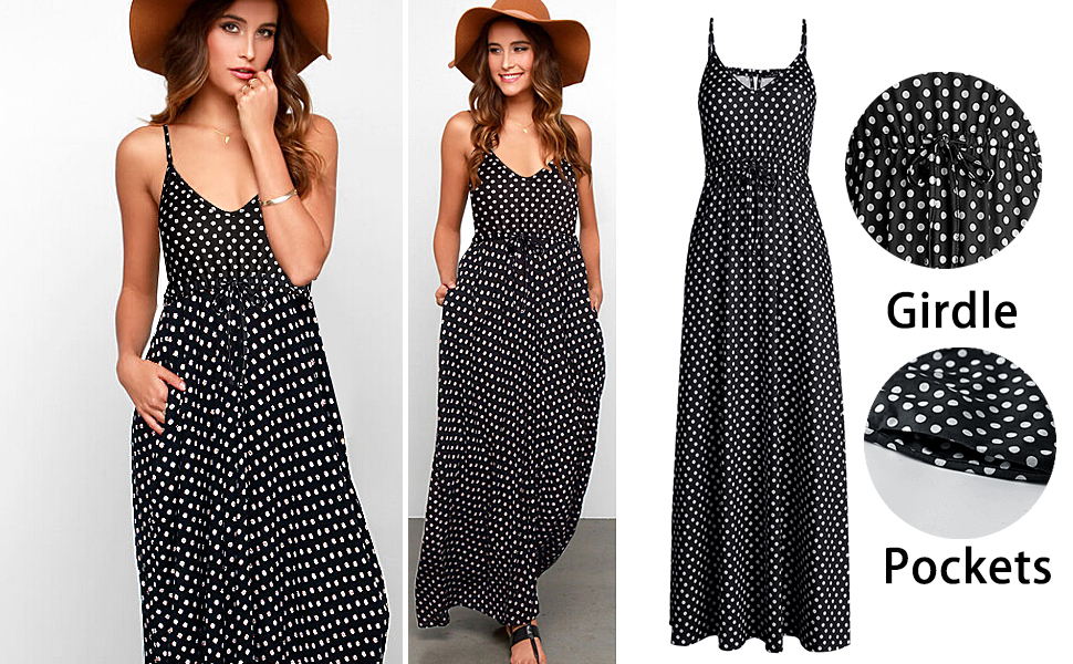 casual maxi dresses for women