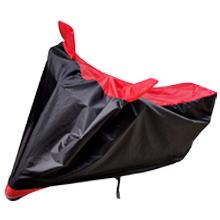 black red waterproof bike body cover