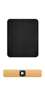 Chair Mat -black(Vinyl)