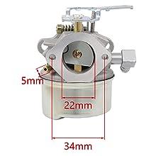 640084B Carburetor for TORO 521 Snow Blower HSSK40 HSSK50 HS50 LH195SA