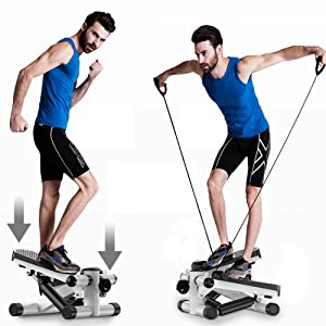 2 In 1 Exercise Stepper