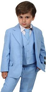 Blue, image, suit, formal, summer, casual, boy,