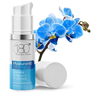 Hyaluronic Acid Face Serum Vitamin C Peptides Vitamin E anti-aging Witch Hazel  Aloe Vera