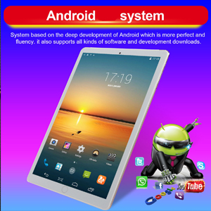 android tablets 10.1 pc wifi fire laptops game Bluetooth HD display GPS office SIM Computer Pad Tab