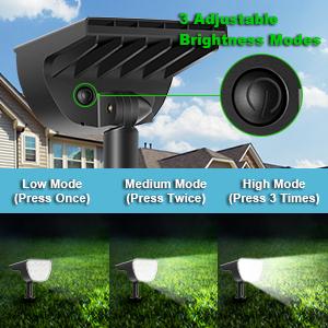 3 Mode solar lights outdoor