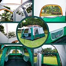 camping tent for 10 person