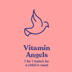 Eu Natural vitamin angels 1 for 1 match gives children 1 year of vitamins for every purchase