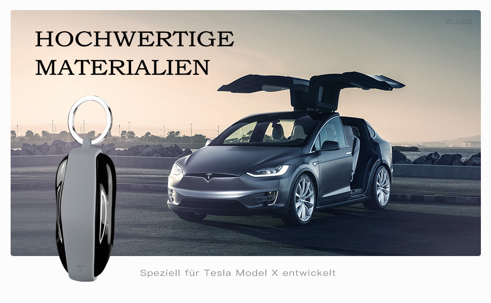 Olaike Key Fob Cover Für Tesla Model X Hochwertige Computer Zubehör