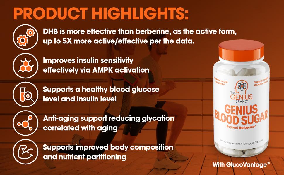 blood sugar support supplements, berberine, metformin