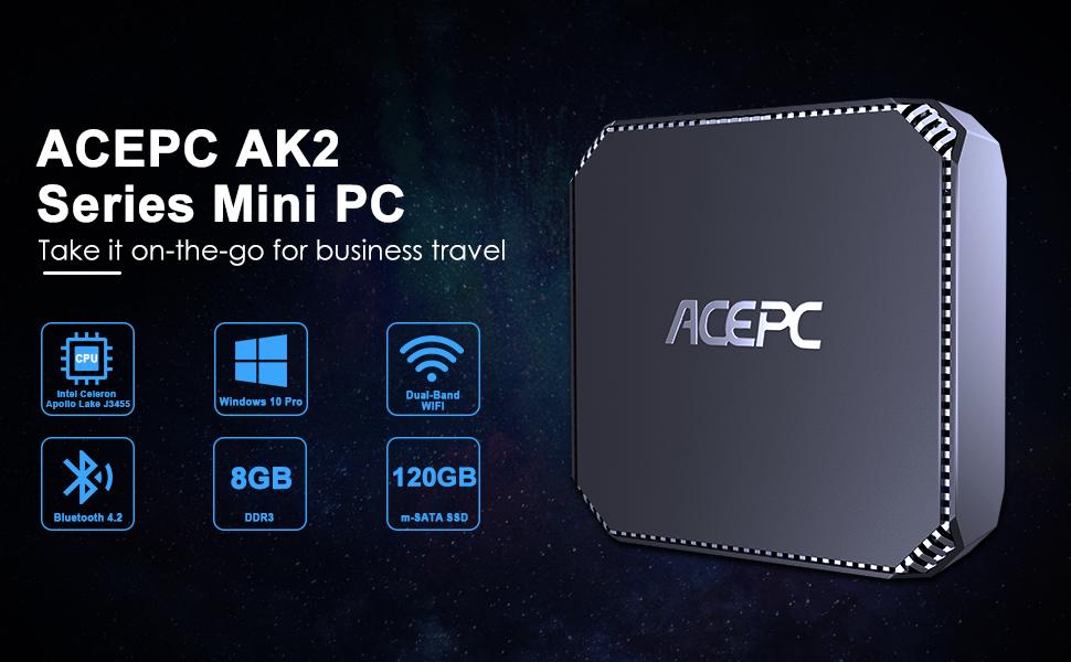 AK2 8GB Mini PC