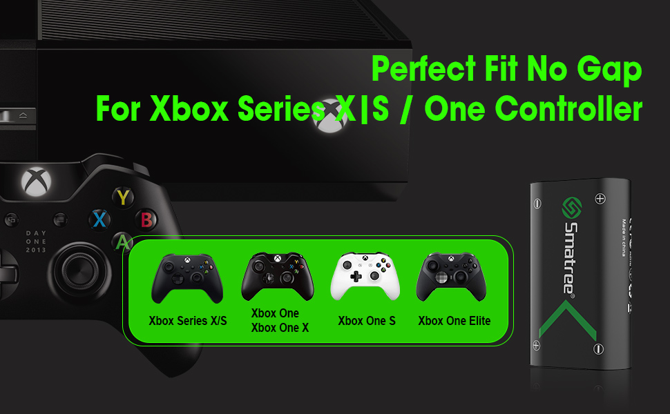 Smatree Batteria Ricaricabile Xbox One Controller Batteria Xbox Series X Batteria Xbox Series S