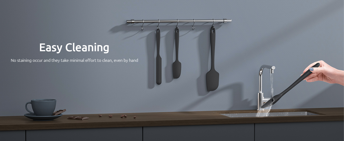 rubber spatula set