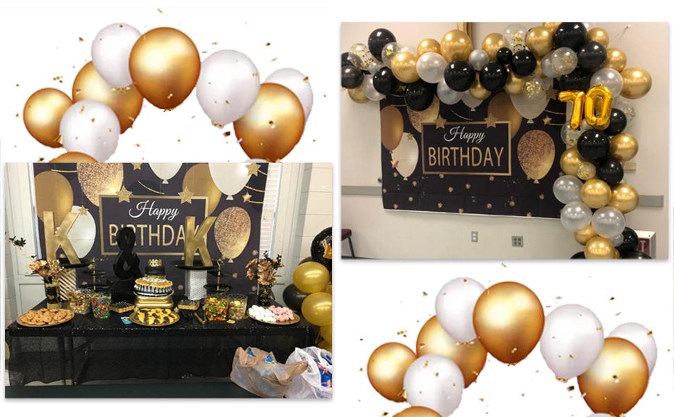 happy biirthday party decorations