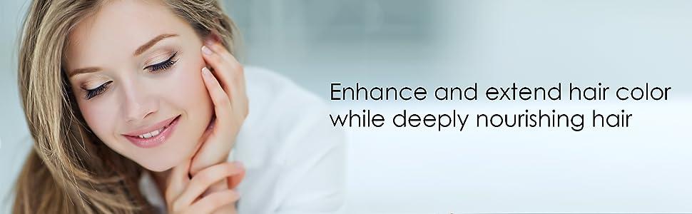 botanic hearth purple shampoo conditioner set blonde natural organic paraben sulfate free best top