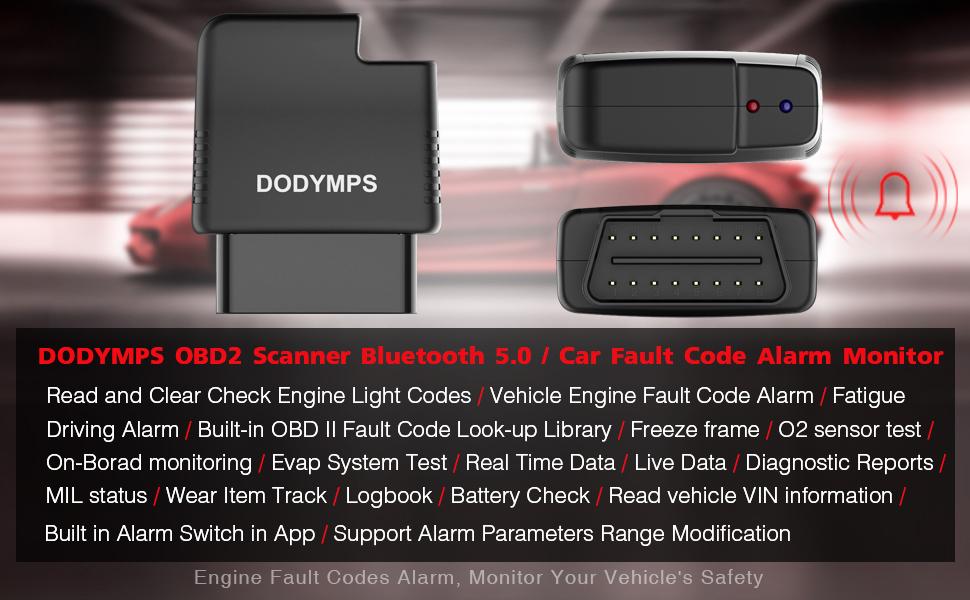 obd2 scanner bluetooth scan tool code reader diagnostic tool