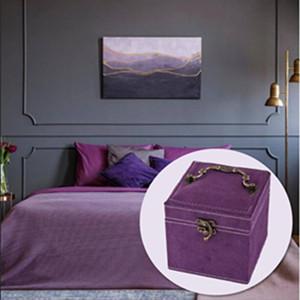Purple jewelry case demo