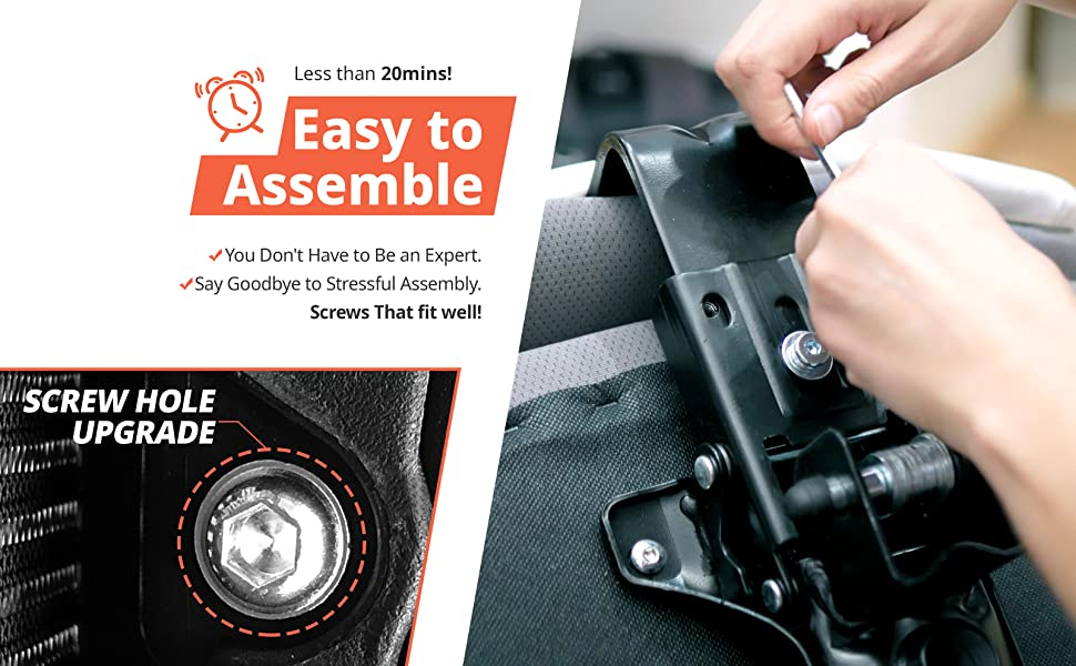 EASY ASSEMBLY FOR EVERYONE  You Don't Have to Be an Expert. For You New Offices and Upgrading Home