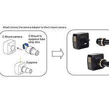 E3ISPM 2.0M KPA Fluorescence Microscope Camera USB3.0 Industrial Digital Cameras