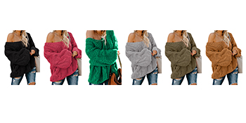 Zecilbo Womens Soft Comfy Sweaters
