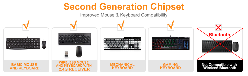 pass through keyboard and mouse compatible upgrades