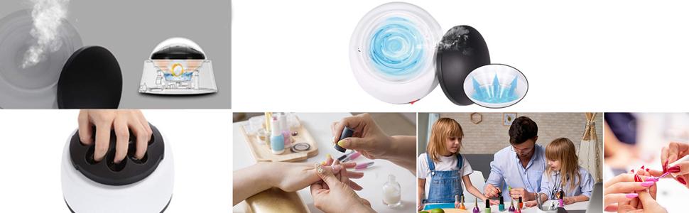 Nails Gelverwijderaar Cleaner met Steam voor Beauty Salon en Home Use