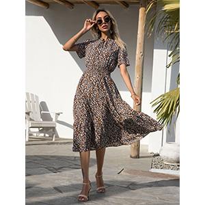 vintage casual dresses boho dress for women flowy dresses for women summer dresses for women