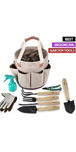 Bucket garden tools