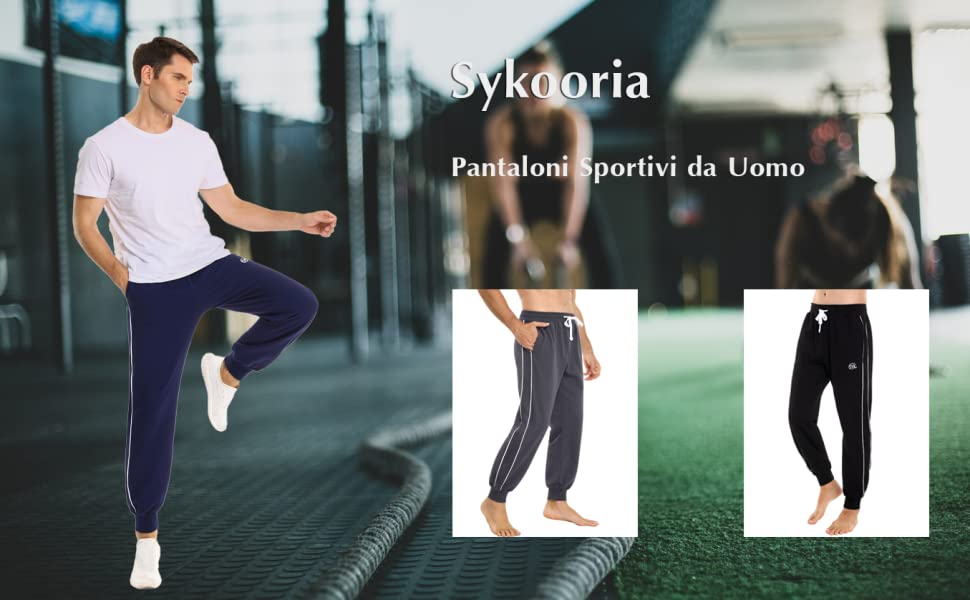 Pantaloni Sportivi da Uomo