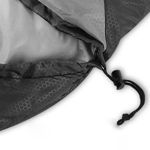 Adjustable Drawstring Hood