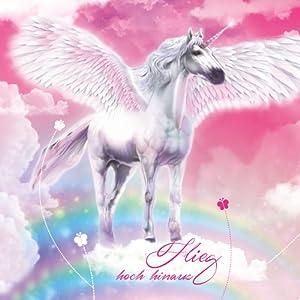 6-eckig Rot Zuckert/üte Einhorn Pferd h Glitter und Glitzer-Borte 85 cm -Spitze T/üllverschluss ROTH Schult/üte gro/ß Pegasus