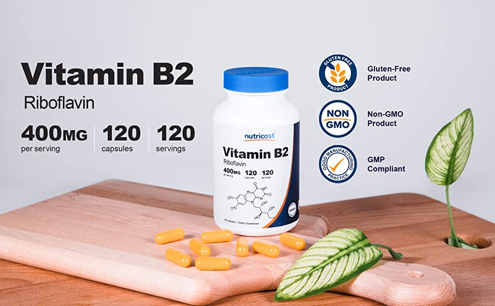 vitamin b2 riboflavin capsules supplement