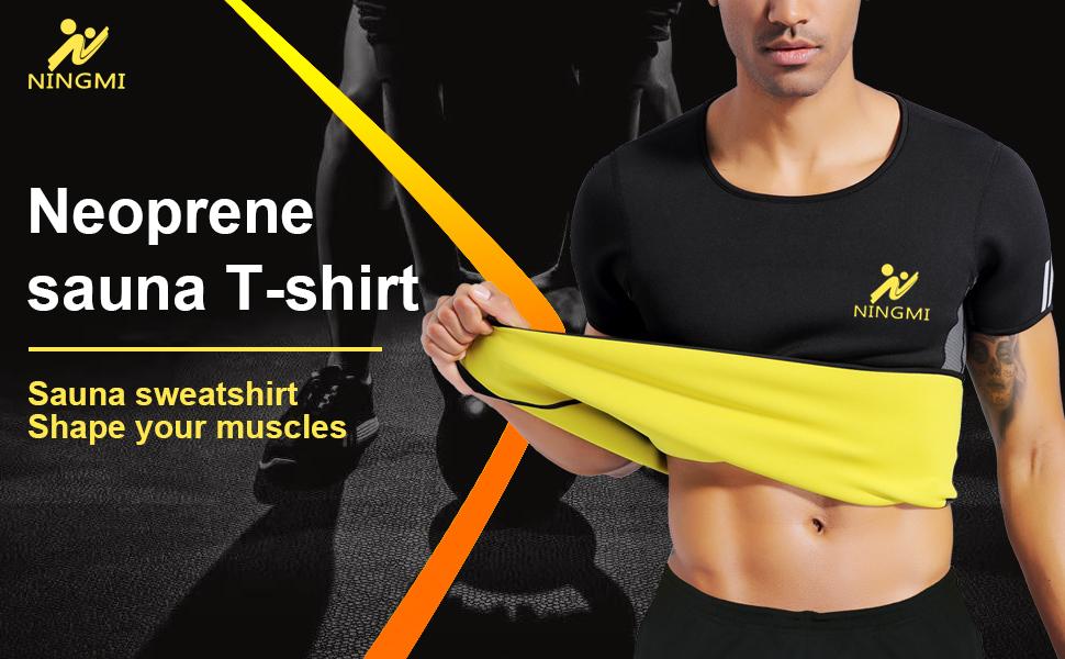 mens puffer vest Workout redu shaper tank tummy fat burner weighted shirts weighted vest No Zip