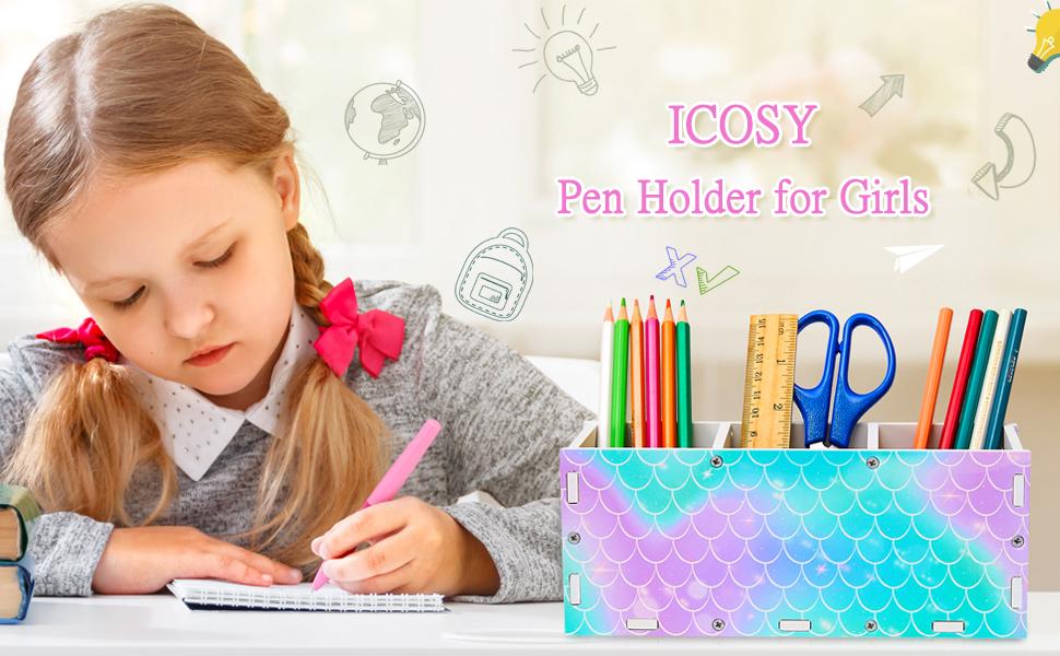 girls pencil holder