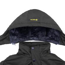 Detachable fleece hood
