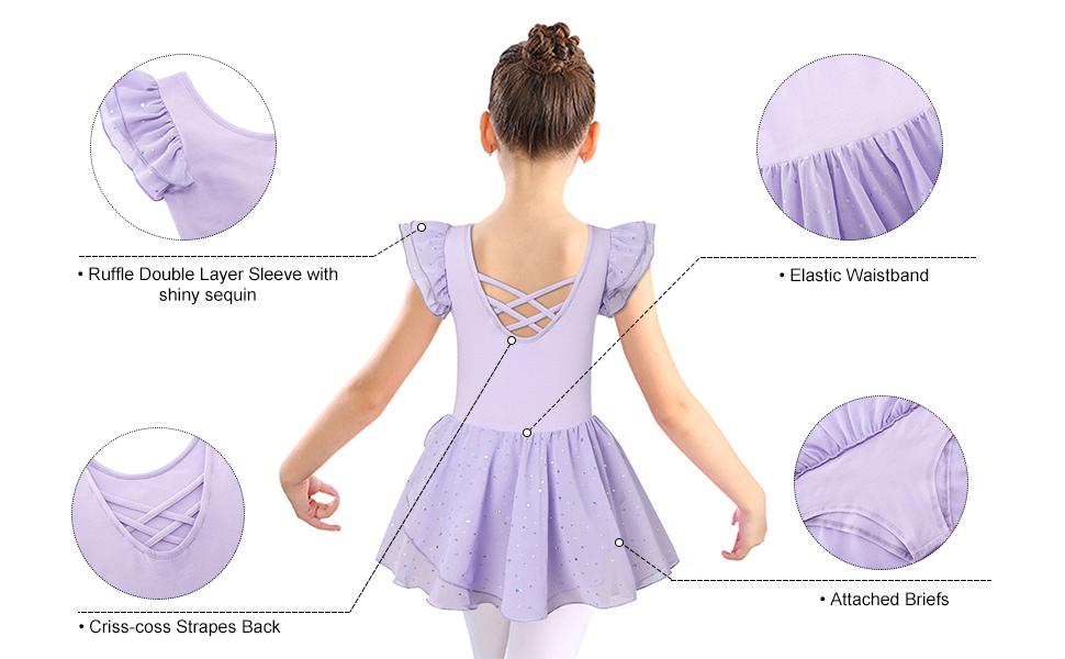 Girl ruffle Sleeve Dress