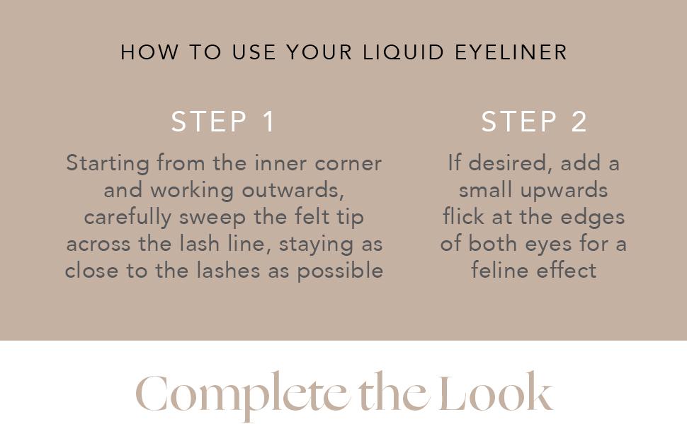 INIKA Organic Liquid Eyeliner How to