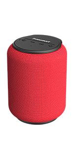 Tronsmart T6 Mini Cassa Bluetooth 15W, 24 Ore Riproduzione, Audio Stereo TWS 360°, IPX6 Impermeabile, Altoparlante Wireless Portatile 5.0, Supporto Scheda di Memoria USB 64G e Assistente Vocale