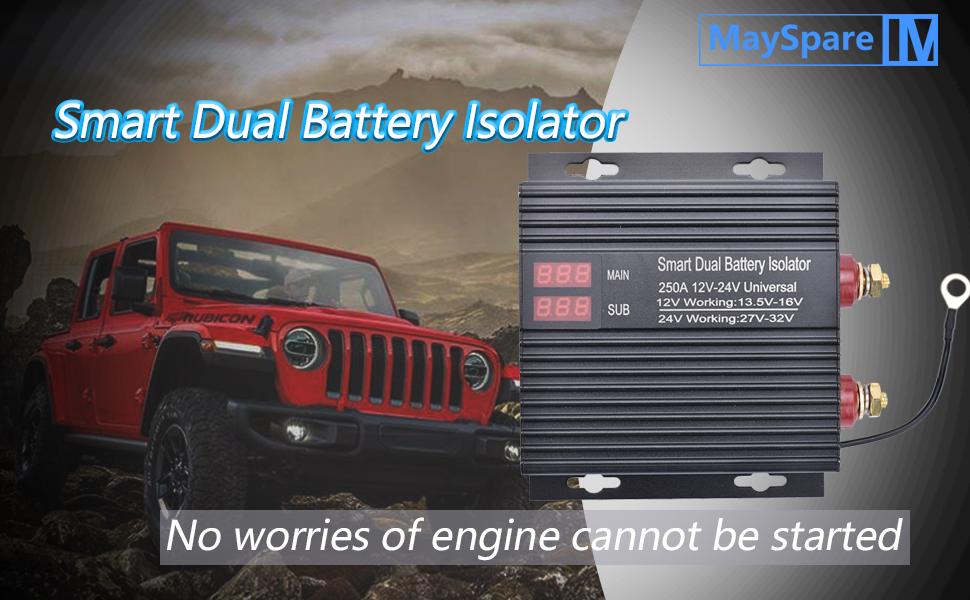 battery isolator relay