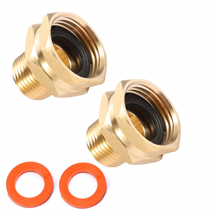"""3/4"""" GHT Female x 1/2"""" NPT Male Connector"""