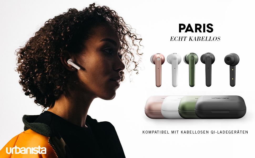 Urbanista Paris True Wireless Kopfhörer 20h Spielzeit Elektronik