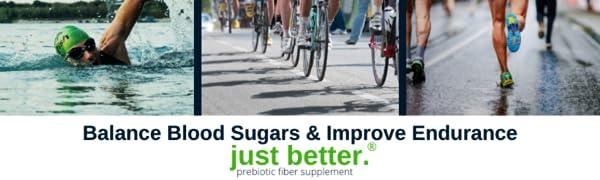 Balance Blood Sugar & Improve Endurance
