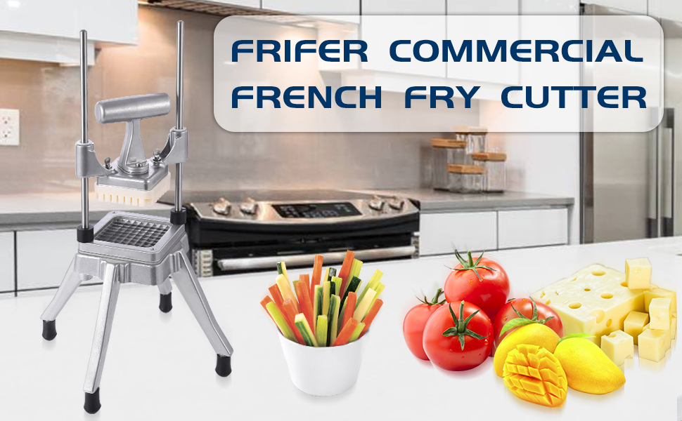 Frifer Commercial Vegetable Fruit Dicer Chopper