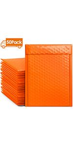 Bubble Mailers Orange