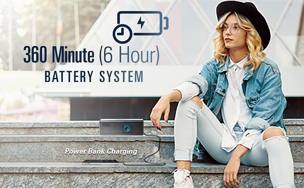 6 Hour Battery System Powerbank