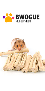 Bunny Bamboo Chew Sticks